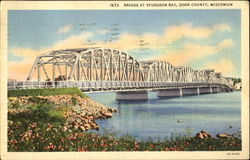 Bridge At Sturgeon Bay, Door County