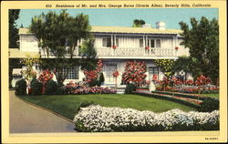 Residence Of Mr. And Mrs. George Burns