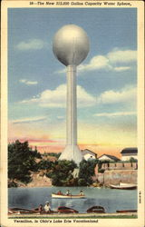 The New 312,000 Gallon Capacity Water Sphere Postcard