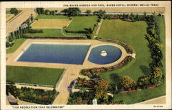 The Baker Garden And Pool