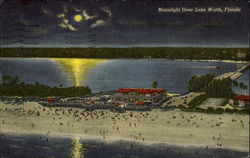 Moonlight Over Lake Worth