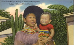 Seminole Mother & Baby