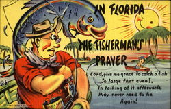 The Fisherman's Prayer Postcard
