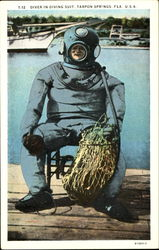 Diver In Diving Suit