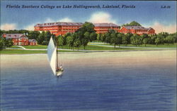 Florida Southern College On Lake Hollingsworth Postcard