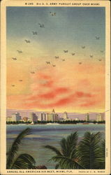 8Th U. S. Army Pursuit Group Over Miami