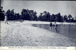 Section Of One Of Our Beaches At Riverhead Estates