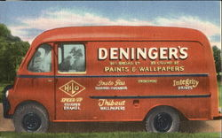 Wallpaper Delivery Van
