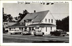 Bennetts General Store & U. S. Post Office Postcard