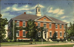 Post Headquarters Postcard