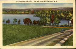 Overlooking Cazenovia Lake And Route 20