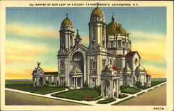 Shrine Of Our Lady Of Victory Postcard