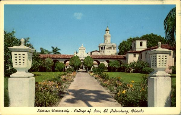 Stetson University College Of Law >> Stetson University College Of Law St Petersburg Fl