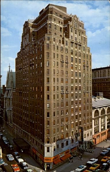 Hotel Alamac, 71st. St. and Broadway New York City