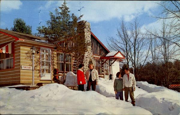 Winter Scene At Honeymoon Haven Poconos Pa