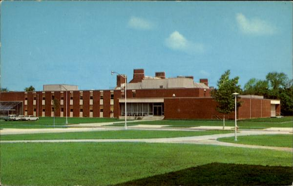 Jewett Hall, The State University College Fredonia New York