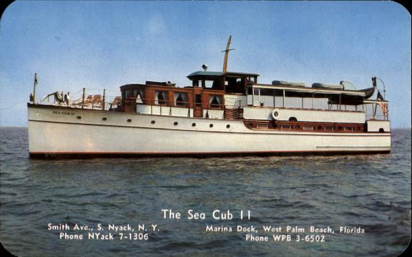 The Sea Cub Ii, Smith Ave. S. Nyack New York