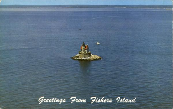 Greetings From Fishers Island, Suffolk County New York