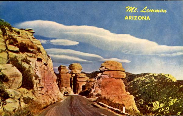 Rock Formations Along Mt. Lemmon Highway