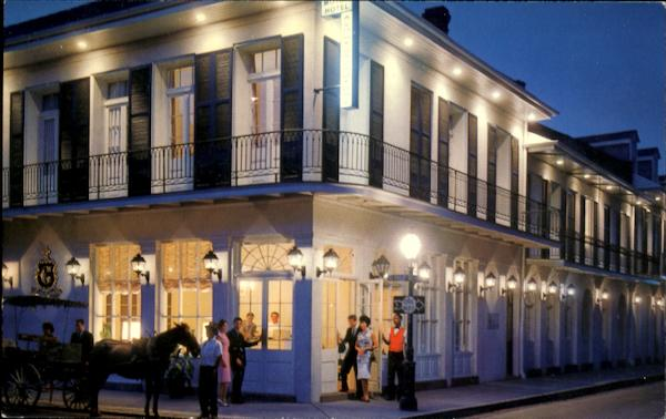 The Chateau Motor Hotel 1001 Chartres Street New Orleans La