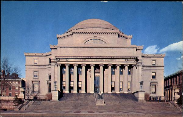 The Low Memorial Library, Columbia University New York City