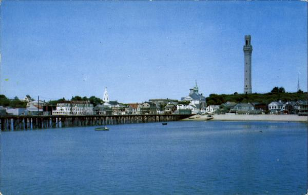 Provincetown Waterfront And Pier Cape Cod Massachusetts