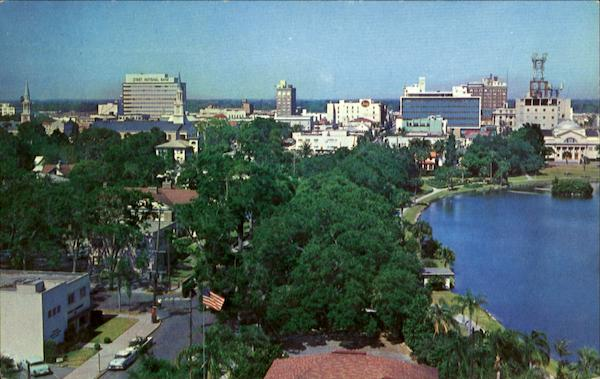 Skyline Of Orlando Florida