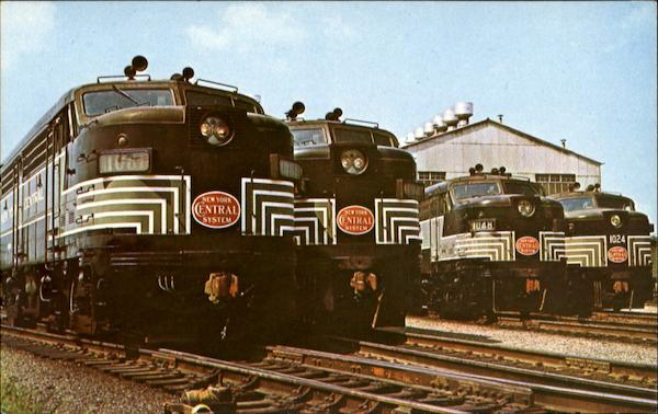 New York Central System Trains, Railroad