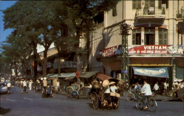 Morning At The Market Saigon Vietnam Southeast Asia