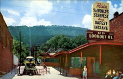 Incline Station At The Bottom Of Lookout Mountain