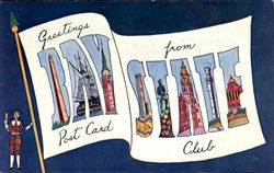 Greetings From Bay State Post Card Club