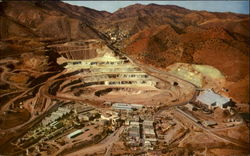 Phelps Dodge Corporation's Lavender Open-Pit Copper Mine