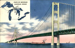State Of Michigan Mackinac Bridge