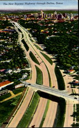 The New Express Highway Through Dallas