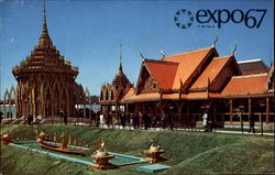 The Pavilion Of Thailand Postcard
