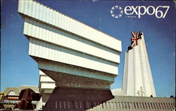 Great Britain Pavilion Postcard