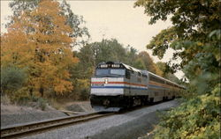Amtrak Post Road Express Postcard