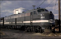 New York Central 4062 Postcard