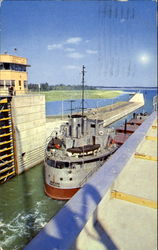 St. Lawrence Seaway And Power Project Postcard
