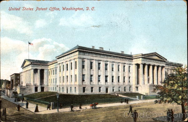 United States Patent Office Washington District of Columbia