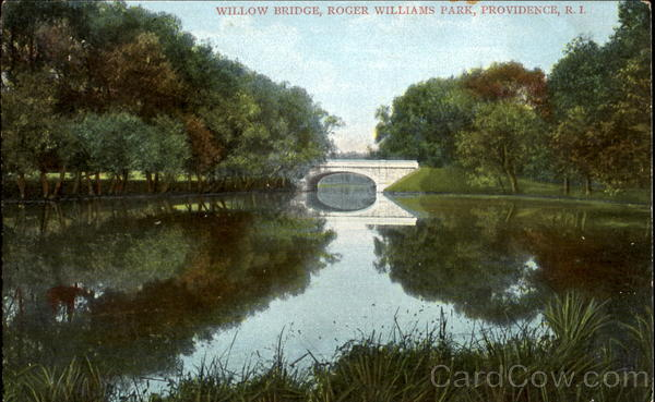 Willow Bridge, Roger Williams Park Providence Rhode Island