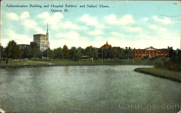 Administration Building And Hospital Soldiers And Sailors Home Quincy Illinois