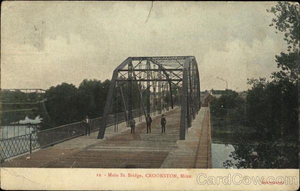 Main St. Bridge Crookston Minnesota