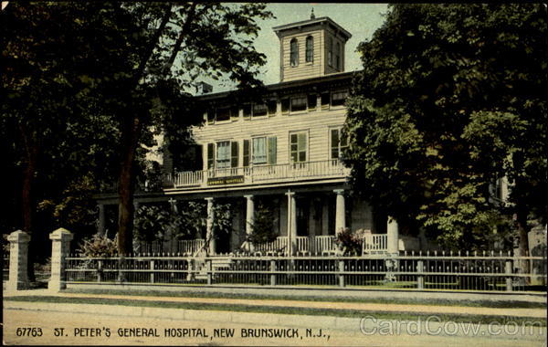 St  Peter's General Hospital New Brunswick, NJ
