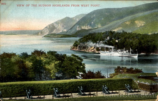 View Of The Hudson Highlands From West Point New York