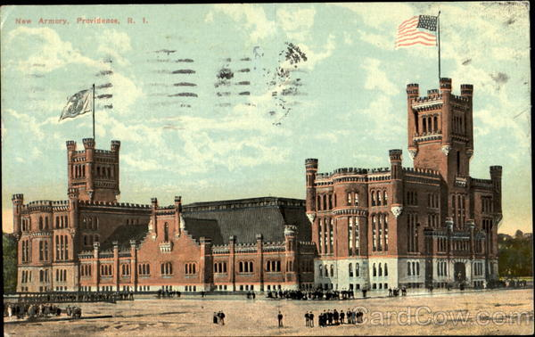 New Armory Providence Rhode Island