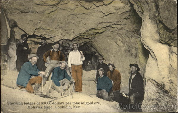 Showing Ledges Of 80000 Dollars Per Tone Of Gold Ore