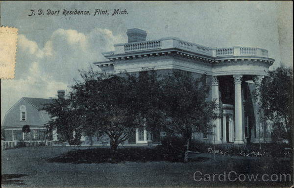 J. D. Dort Residence Flint Michigan