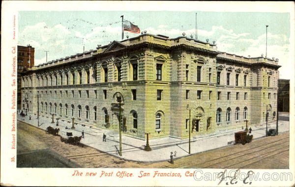The New Post Office San Francisco California