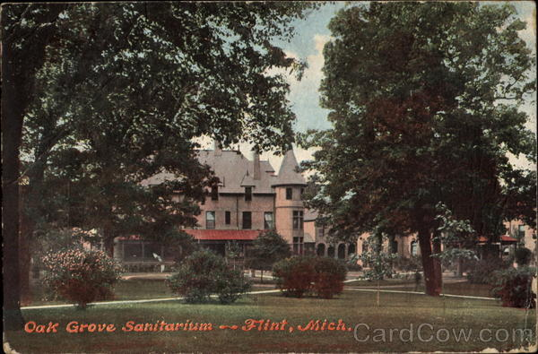 Oak Grove Sanitarium Flint Michigan